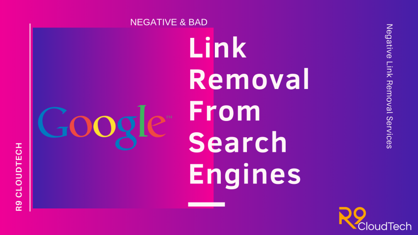Link Removal From Search Engines